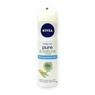 Nivea Deodorant Spray - Pure and Natural Action 150ml