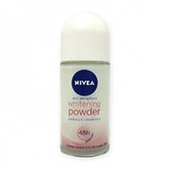 Nivea Deodorant Roll On - White Powder 50ml