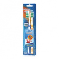 Oral-B Toothbrush - Classic Ultra Clean Wave Trim Deep Clean - Soft 2s