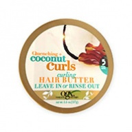 OGX Quenching Coconut Curls Hair Butter - Leave in or Rinse Out 187g