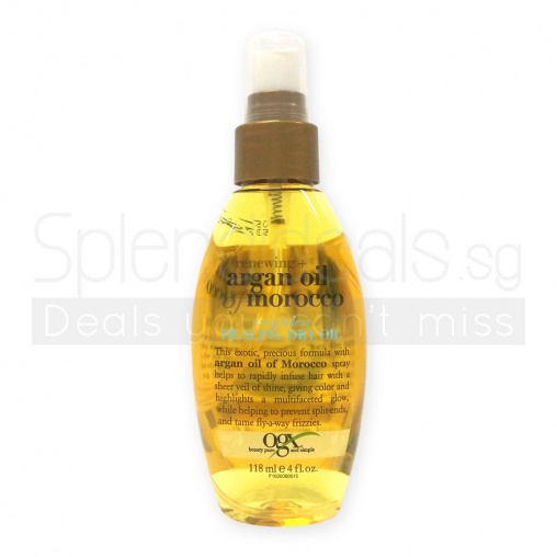OGX Renewing +Argan Oil Of Morocco Weightless Healing Dry Oil 118ml