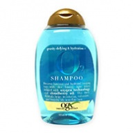 OGX Gravity Defying and Hydration Plus O2 Shampoo 385ml