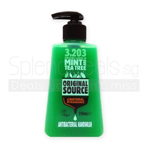 Original Source Hand Wash - Mint And Tea Tree Anti Bacterial 250ml