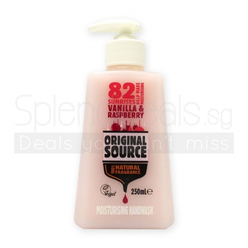 Original Source Hand Wash - Vanilla & Raspberry Moisturising 250ml