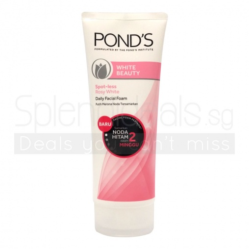 Ponds Cleanser - White Beauty Spotless Rosy White 100g
