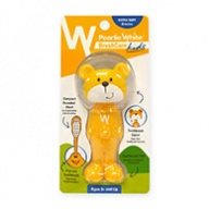 Pearlie White Brush Care - Extra Soft Bristles for Kids - 3 Yrs + Bear Design