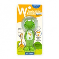 Pearlie White Brush Care - Extra Soft Bristles for Kids - 3 Yrs + Frog Design