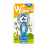 Pearlie White Brush Care - Extra Soft Bristles for Kids - 3 Yrs + Penguin Design