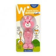 Pearlie White Brush Care - Extra Soft Bristles for Kids - 3 Yrs + Rabbit Design