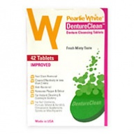 Pearlie White Denture Clean Denture Cleansing Tablets - 42 Tablets
