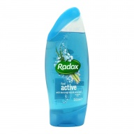 Radox Feel Active Shower Gel - Lemongrass & Sea Salt 250ml