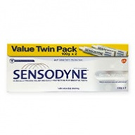 Sensodyne Gentle Whitening Toothpaste for Sensitive Teeth Twin Pack 100g x 2