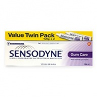 Sensodyne Gum Care Toothpaste for Sensitive Teeth Twin Pack 100g x 2