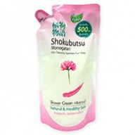 Shokubutsu Monogatari Chinese Milk Vetch Shower Cream Refill 500ml