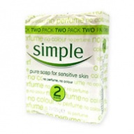 Simple Soap - Sensitive Skin Pure Soap 125g x 2