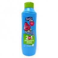 Suave Kids Strawberry 2 in 1 Smoothers Shampoo & Conditioner 665ml