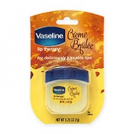 Vaseline Lips Therapy - Crème Brulee for Deliciously Kissable Lips 7g