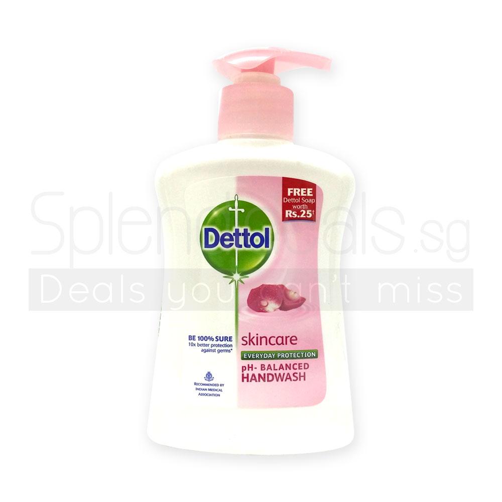 Hand Wash Dettol Skin Care Anti Bacterial Ph Balanced