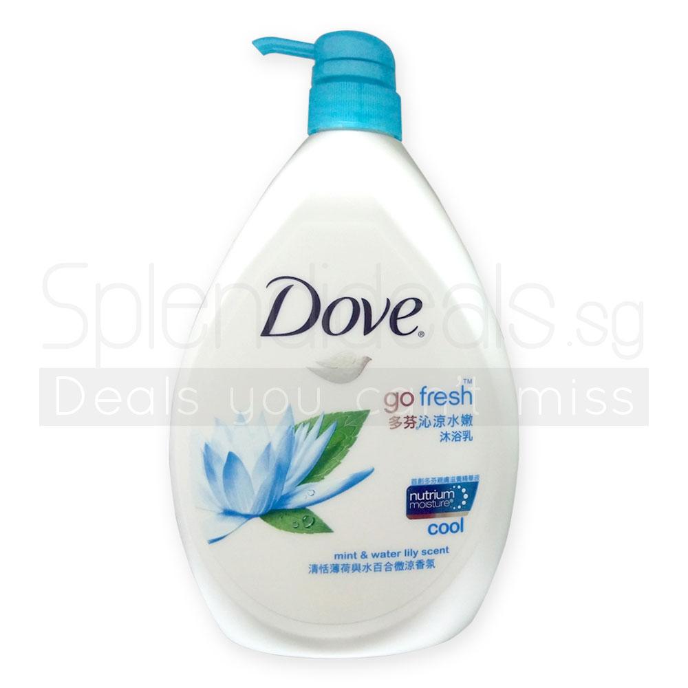 Deals U Cant Miss Dove Aqua Moisture Body Wash Refill 400ml Twin Pack Go Fresh Cool W Mint Water Lily 1000ml