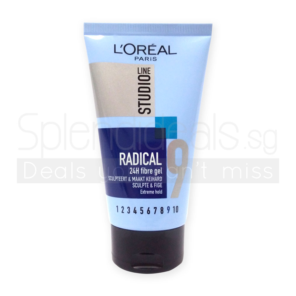 Hair styling loreal studio line radical extreme hold 24h for Loreal salon hair products