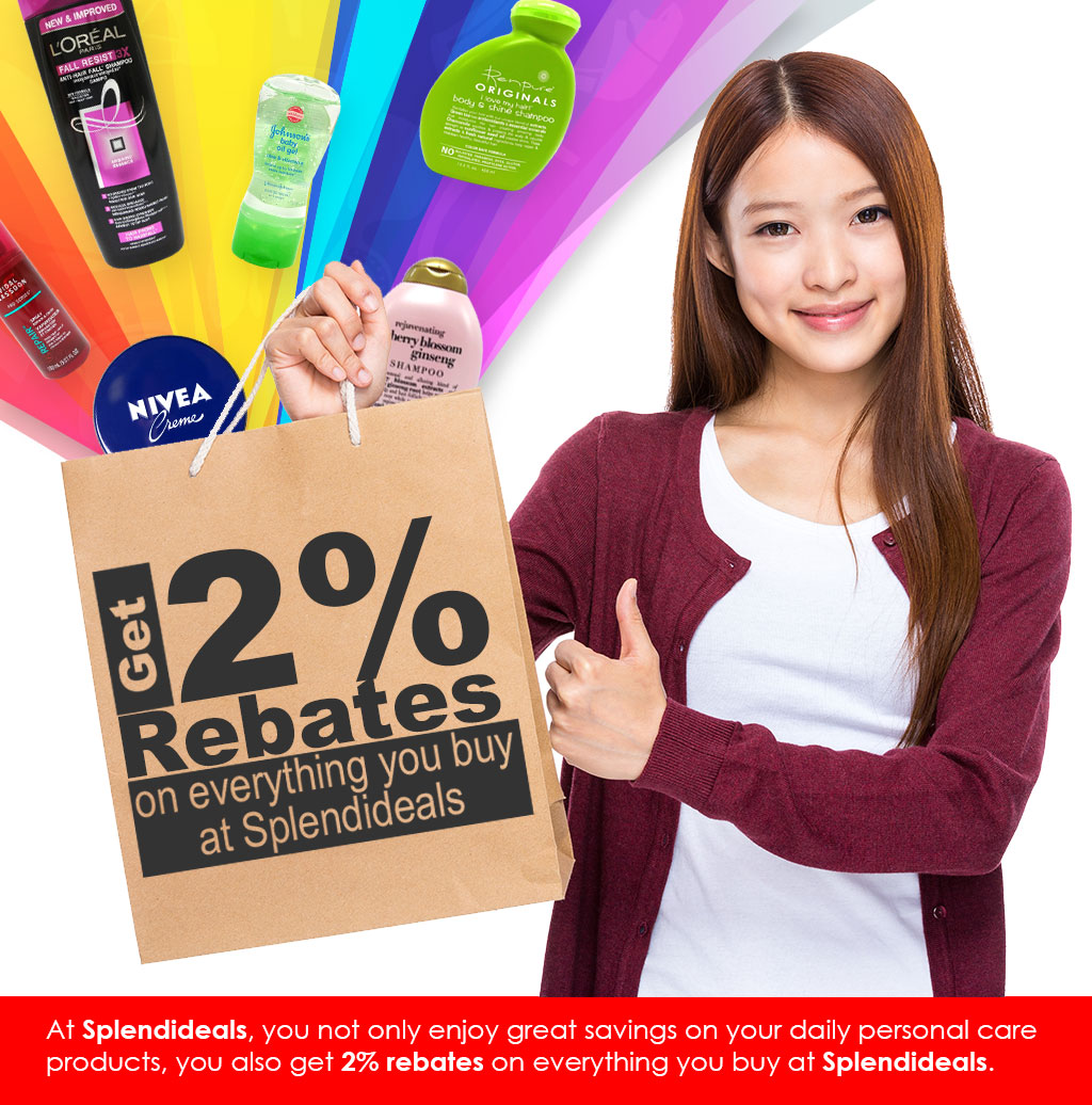 Get rebates at Splendideals