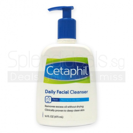 Cetaphil Daily Facial Cleanser for Normal to Oily Skin 473ml