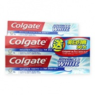 Colgate Toothpaste - Advance Whitening Toothpaste 2x160g+90g