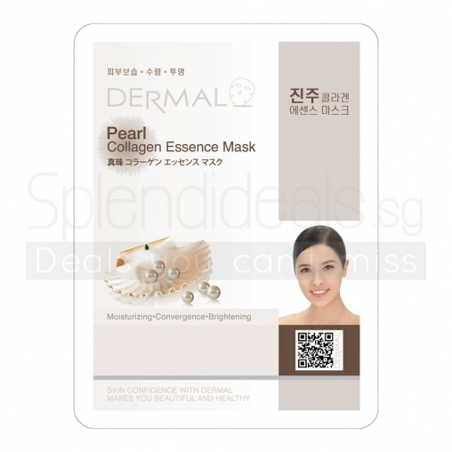 Dermal Collagen Mask - Pearl 23g x 10s
