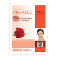 Dermal Collagen Mask - Rose 23g x 10s