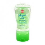 Johnsons Baby Oil Gel - Aloe & Vitamin E (10 times Moisture) 192ml