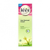 Veet Cream - Hair Remover With Shea Butter & Lily Fragrance for Dry Skin 100ml