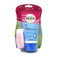 Veet Cream - In shower Hair Removal Cream for Sensitive Skin 150ml